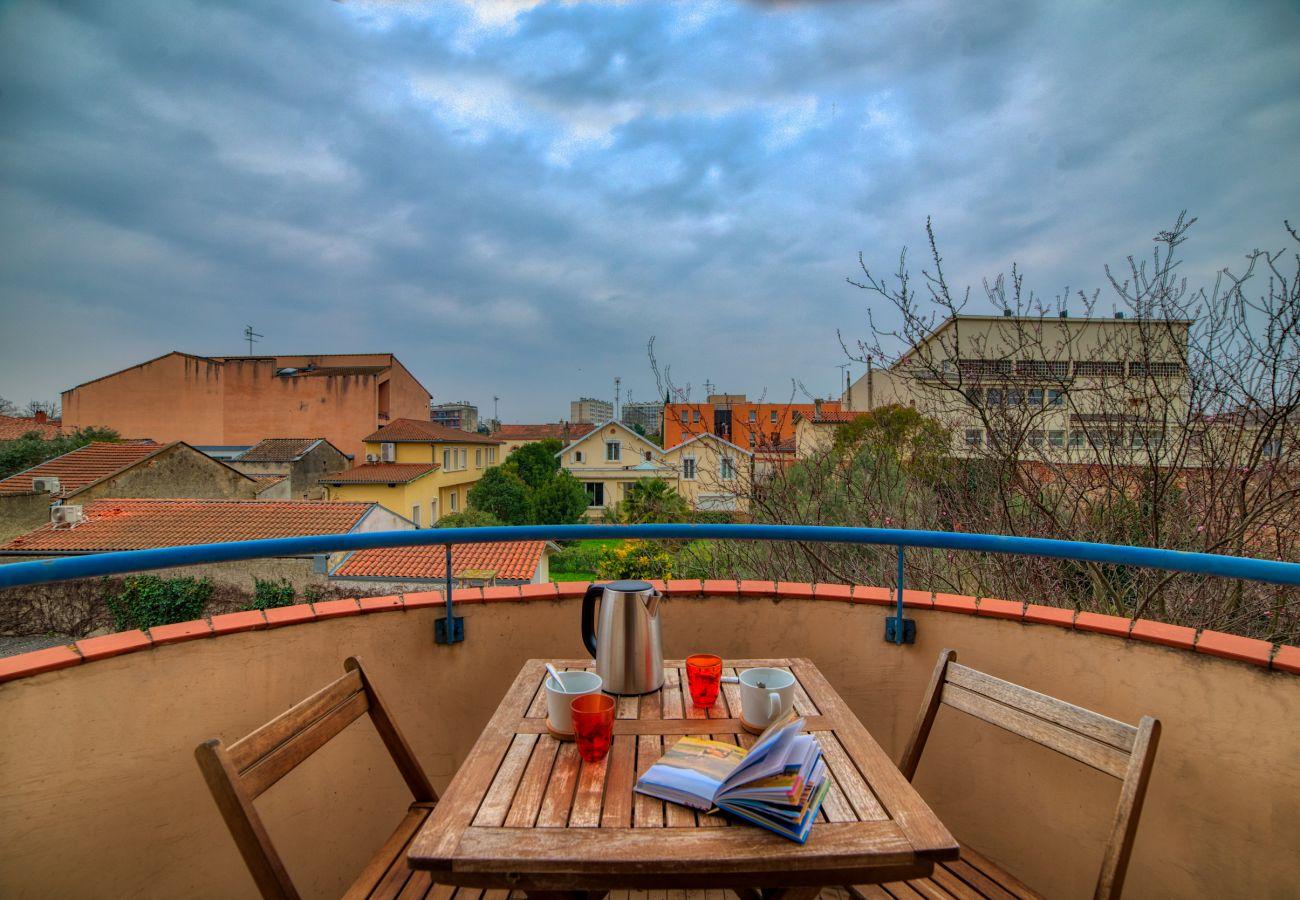 Appartement à Toulouse - BUSCA Parking Terrasse