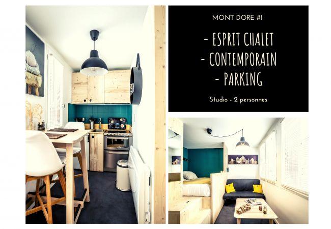 à Mont-Dore - MONT-DORE #1 - Studio Esprit Chalet - 1 Chambre