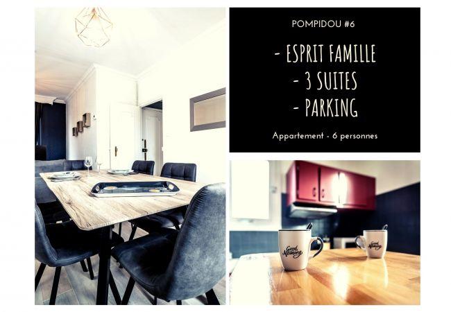 à Brive-la-Gaillarde - POMPIDOU #6 - Esprit maison de famille - 3 suites