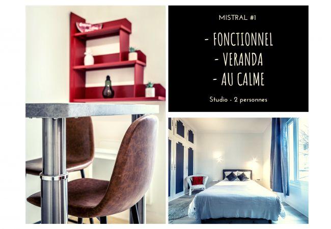 à Brive-la-Gaillarde - MISTRAL #1 - Studio chic - 1 chambre