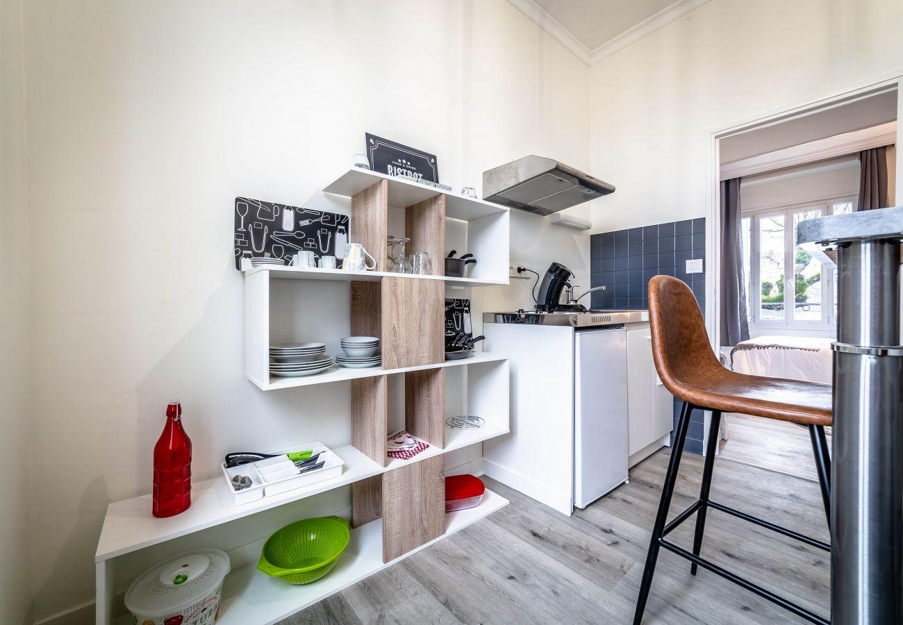 Studio à Brive-la-Gaillarde - VOLTAIRE #2 - Studio délicat - 1 chambre
