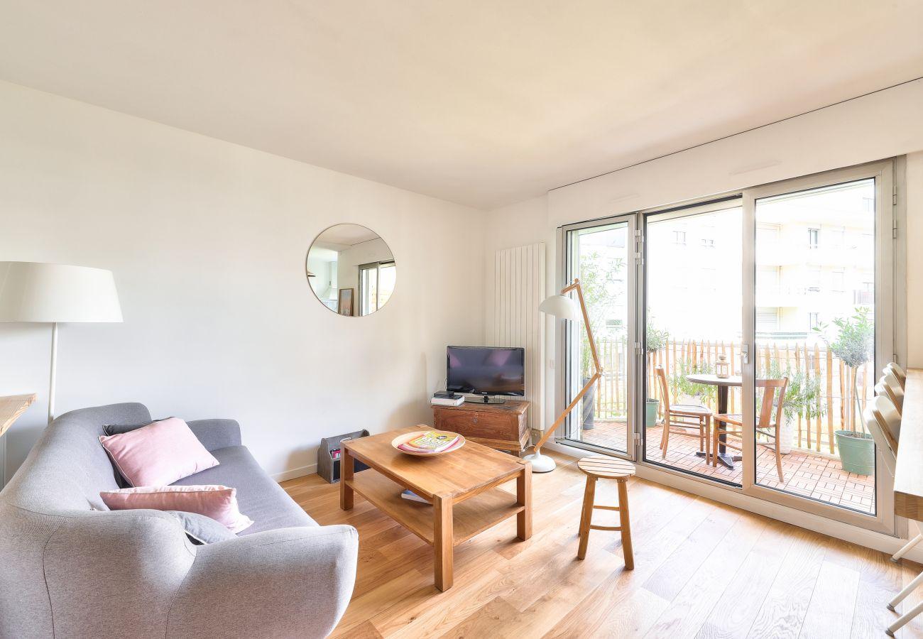 Appartement à Bordeaux - BDX-LANDIRAS hyper centre balcon